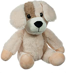 Calming Cuddlers Weighted Microwavable Heated Stuffed Animal | Filled with Clay Bead Pouch | Hypoallergenic and Safe | to Warm Your Heart | Precious Puppy