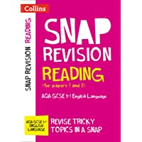 Reading (for papers 1 and 2): AQA GCSE 9-1 English Language (Collins Snap Revision)