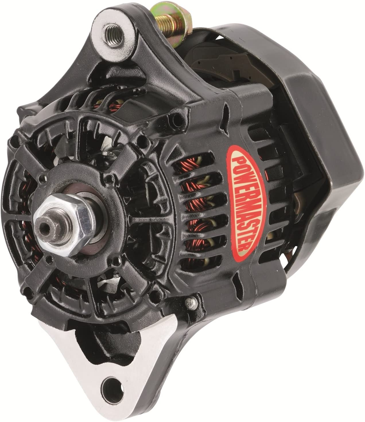 Powermaster 8182 Alt Denso Race 93mm Black 75A 12 Volt 1-Wire 714NvzsflzLSL1500_