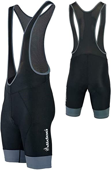 Didoo Mens Cycling Bib Shorts Padded Summer Breathable MTB Biking Pants coolmax