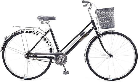 LIXIGB Bicicleta Cruiser para Mujer con Cuadro de Ajuste Bicicleta ...