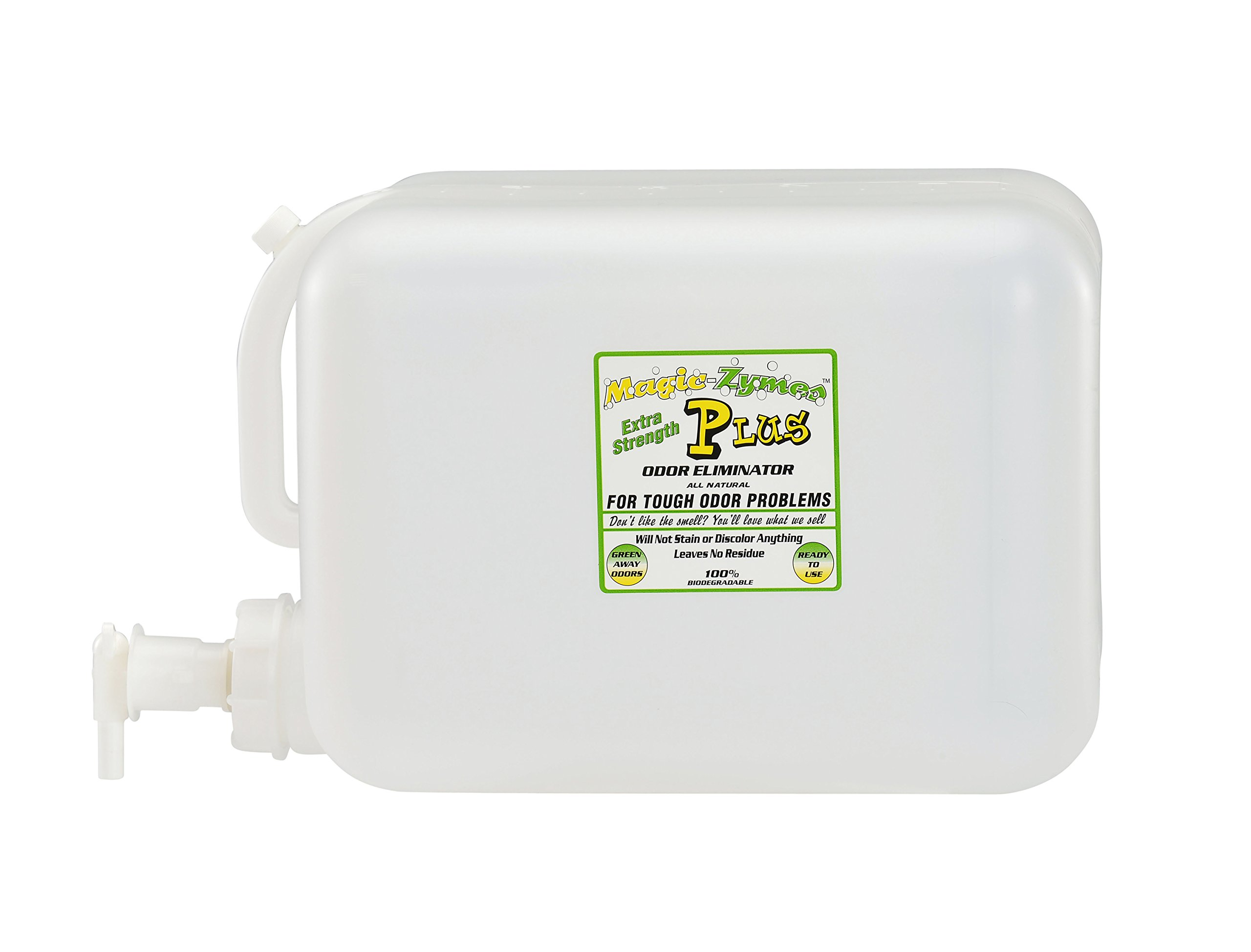 Magic-Zymes Plus Extra Strength All Natural Odor Remover 5 Gallon Bottle by Magic-Zymes (Image #1)