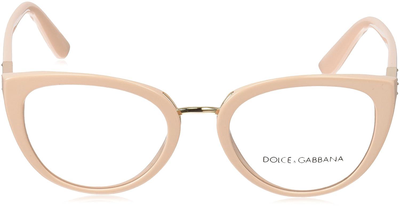 Amazon.com: Dolce & Gabbana Mujer dg3262 anteojos, Rosado ...
