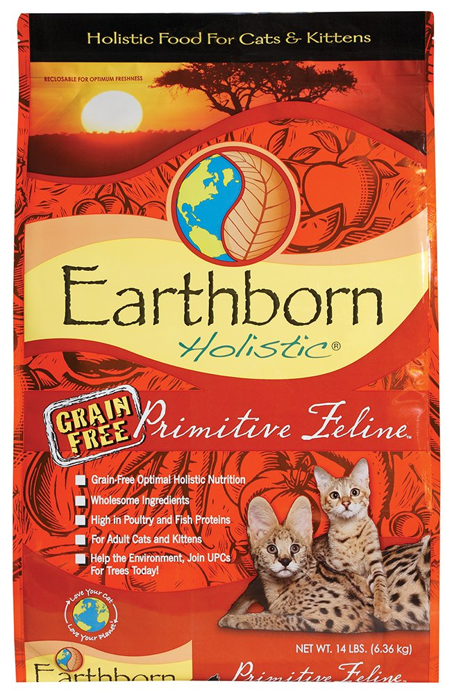 Earthborn Grain Free Primitive Feline 14 lbs by Earthborn Holistic (Image #8)