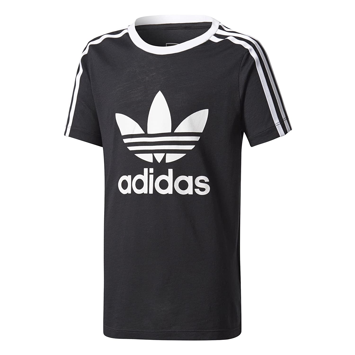 adidas Originals Girl's 3-Stripes Trefoil Tee BQ3945