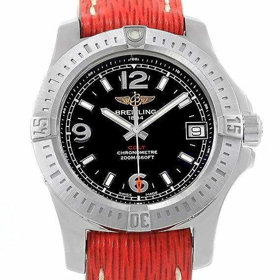 Para mujer reloj de cuarzo de Breitling Colt a74389 (Certificado) de segunda mano: Breitling: Amazon.es: Relojes