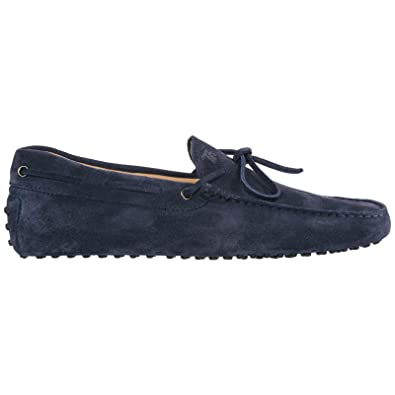 926a68daed2 Amazon.com | Tod's S Men Gommino Moccasins blu | Loafers & Slip-Ons