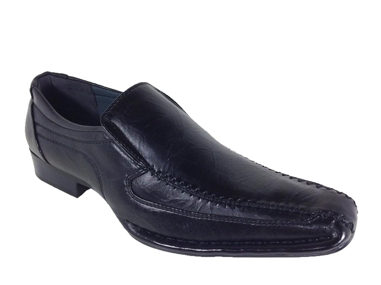 Alberto Fellini Nedu01 Men Dress Loafers with Aligator Prints Slip On Lace Up Oxfords Dress Shoes