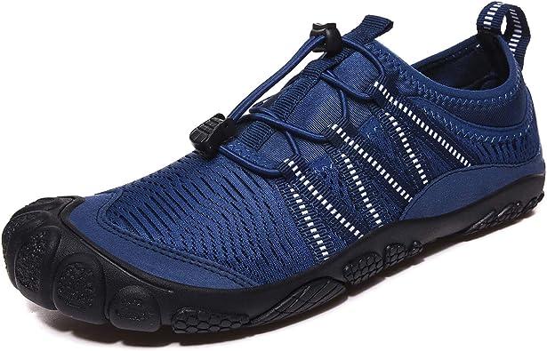 FITORY Zapatilla de Barefoot Mujeres Hombres Seco Rápido Zapatos ...