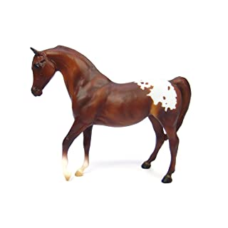 "Breyer Freedom Series (Classics) Chestnut Appaloosa Horse | Model Horse Toy | 1:12 Scale (Classics) | 9"" L x 6"" H 