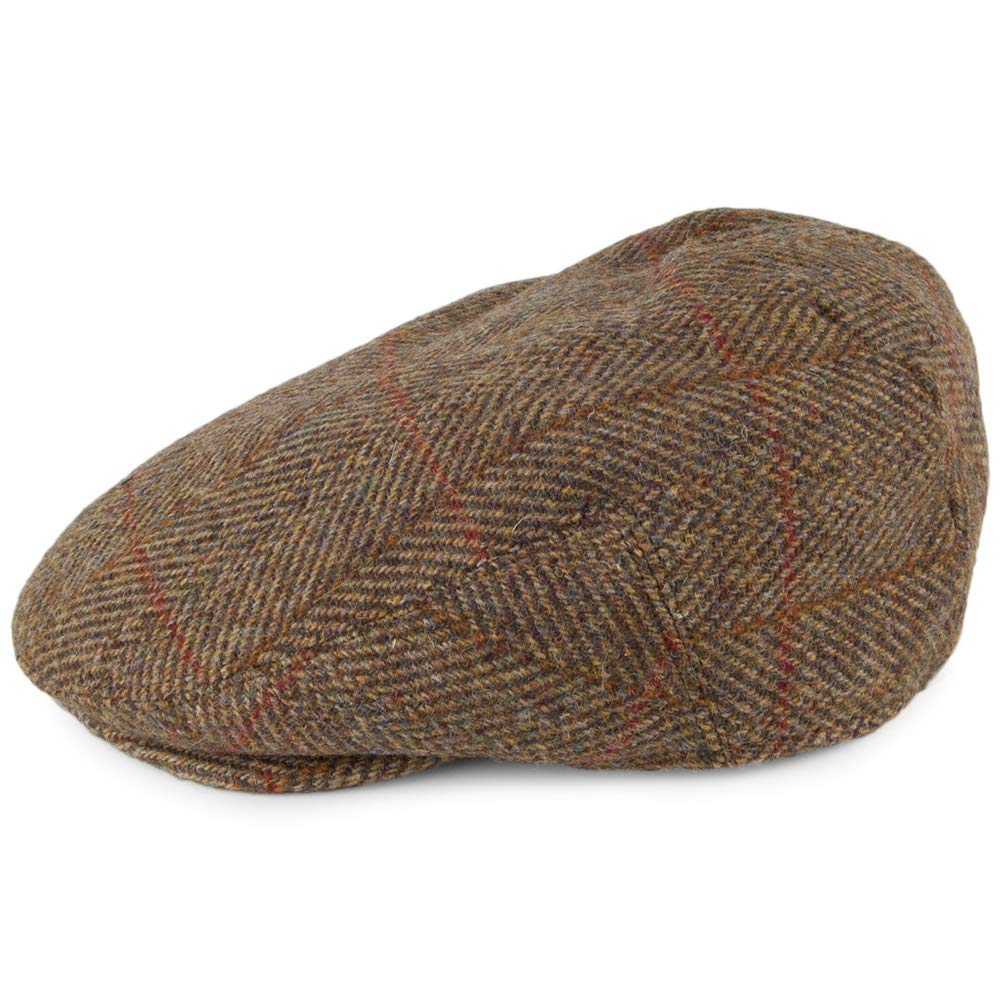 Failsworth Gorra Plana Stornoway de Tweed Harris Turba - 61 ...