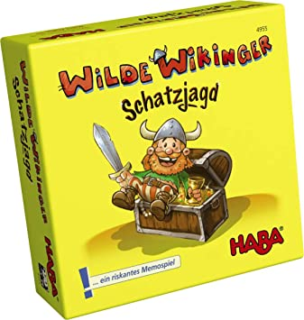 Haba Feroces Vikingos Mini Juego De Mesa Ha4955 Amazon Es