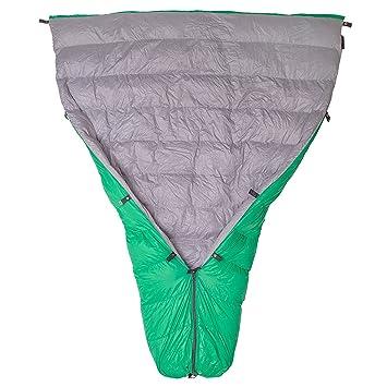 Paria Outdoor Products Saco para Dormir Thermodown, 15 Grados - Clima frío Ultraligero, Colcha