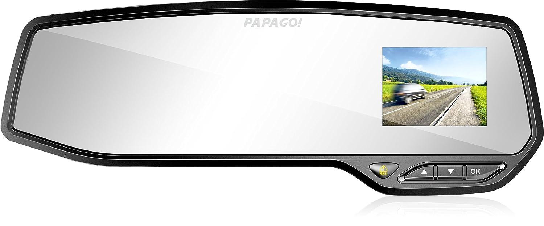 PAPAGO Car Dash Camera GoSafe 268 Full HD Dash Cam 1080PCar DVR with GPS Option, SONY EXMOR SENSOR Full Mirror Mount, Night Vision , Free 8GB Micro SD Card GS2688G