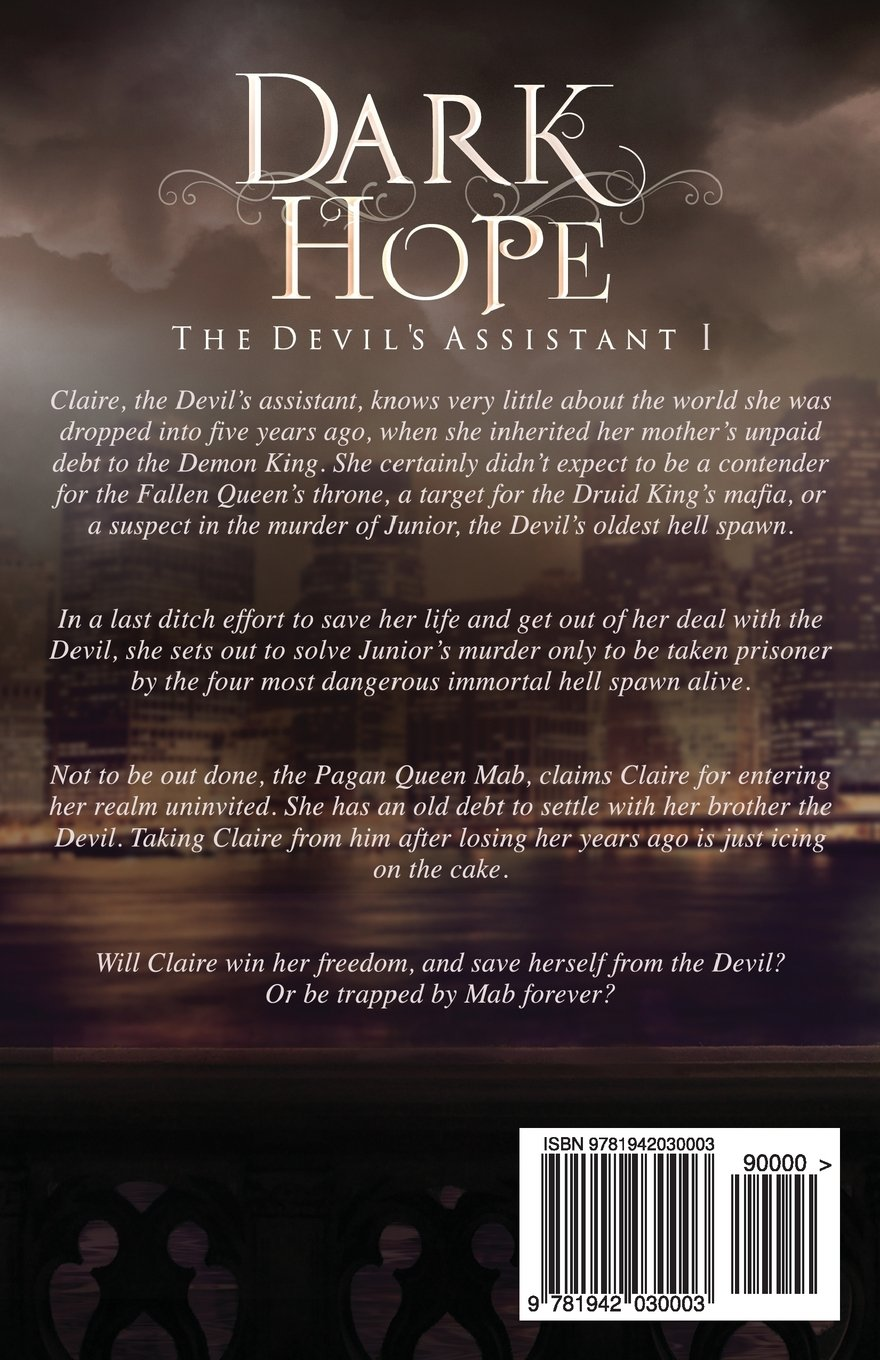 Dark Hope (the Devil's Assistant) (volume 1): H D Smith: 9781942030003:  Amazon: Books