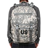 US Army Military Issue Tactical Digital Camo Camouflage ACU ASSAULT 3 Days MOLLE BACK PACK Ruck Sack Backpack Carrier for Hunting Shooting Hiking Camping Outdoor by US Government Issue GI USGI