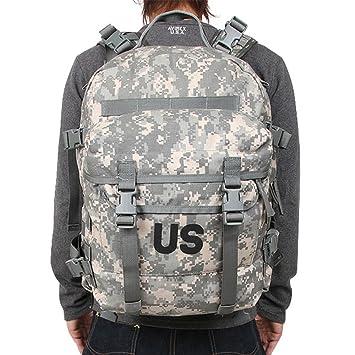 Amazon.com: US Military MOLLE II Assault Pack, ACU Digital ...