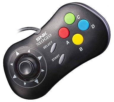neogeo mini console official control pad black neogeo mini