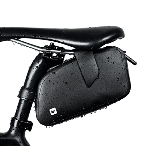 097ed3ae7d1c Image Unavailable. Image not available for. Color  Rhinowalk Waterproof  Bike Saddle Bag ...