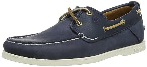 Timberland Earthkeepers Heritage Boat 2 Eye, Sneaker uomo, Blau (Blue), 40