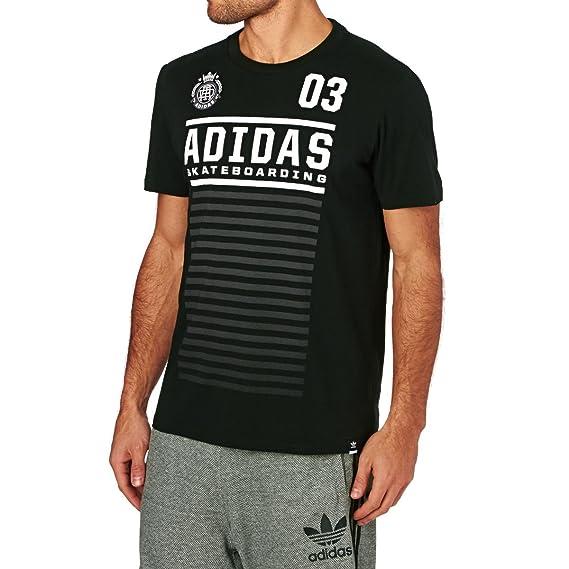 adidas FC tee Camiseta, Hombre: Amazon.es: Ropa y accesorios