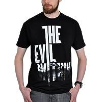 The Evil Within Herren T-Shirt Wired Logo zum Game Baumwolle schwarz - L