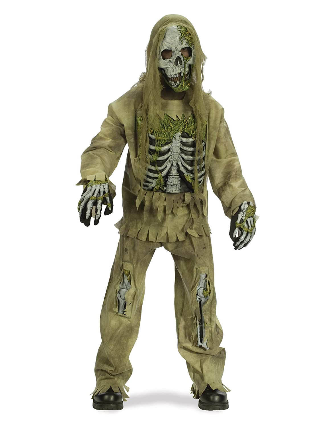 Fun World - Skeleton Zombie Child Costume