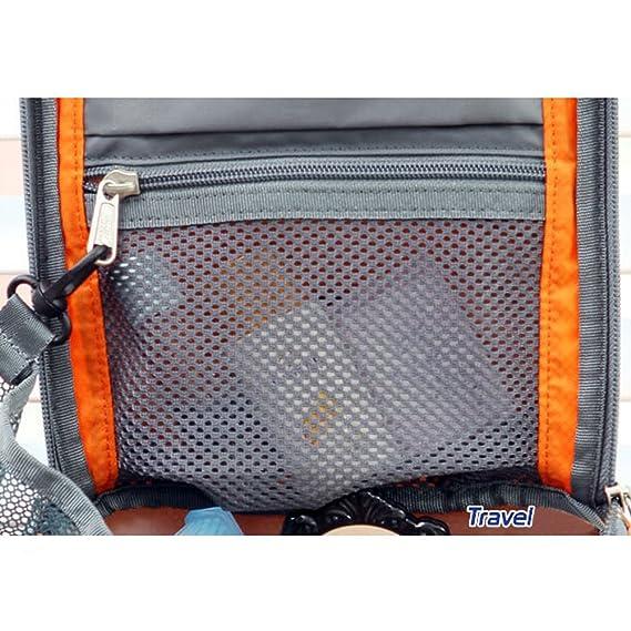 SZTARA Travel Toiletry Bag Organizer   Hanging Portable Travel Bags   Household  Storage Pack   Bathroom Makeup or Shaving Kit For Women Home Business 8edd4b9e724b2
