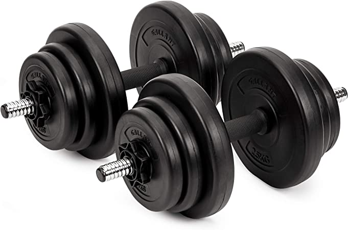 20kg Dumbbells Set For Men Women - Adjustable Free Hand Weights Dumbbell  Excellent for Weight Lifting Body Building Home Gym Training Equipment  Barbell Bench Press Exercise: Amazon.co.uk: Sports & Outdoors
