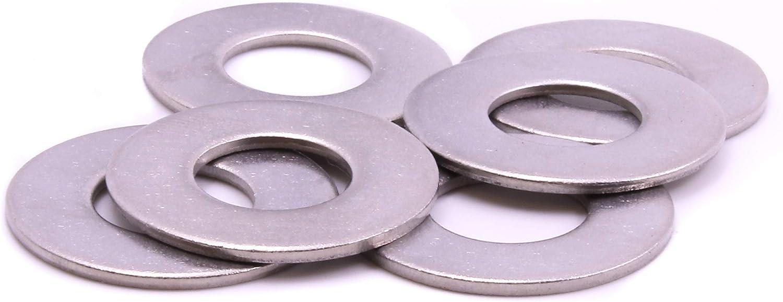 100 Pcs U-Turn /… 18-8 Stainless Steel 3//8 x 1-1//2 Fender Washer