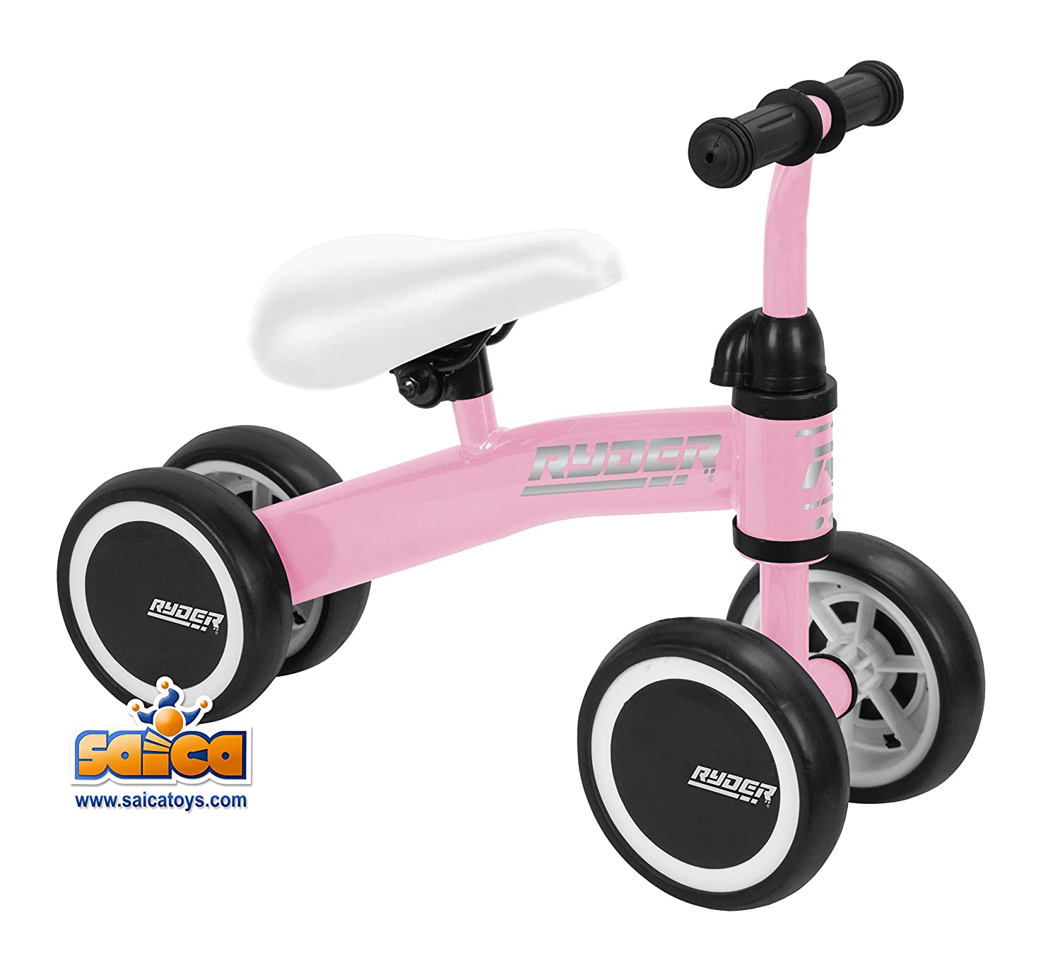 Saica Patinete Correpasillos My First Scooter Ryder Rosa ...