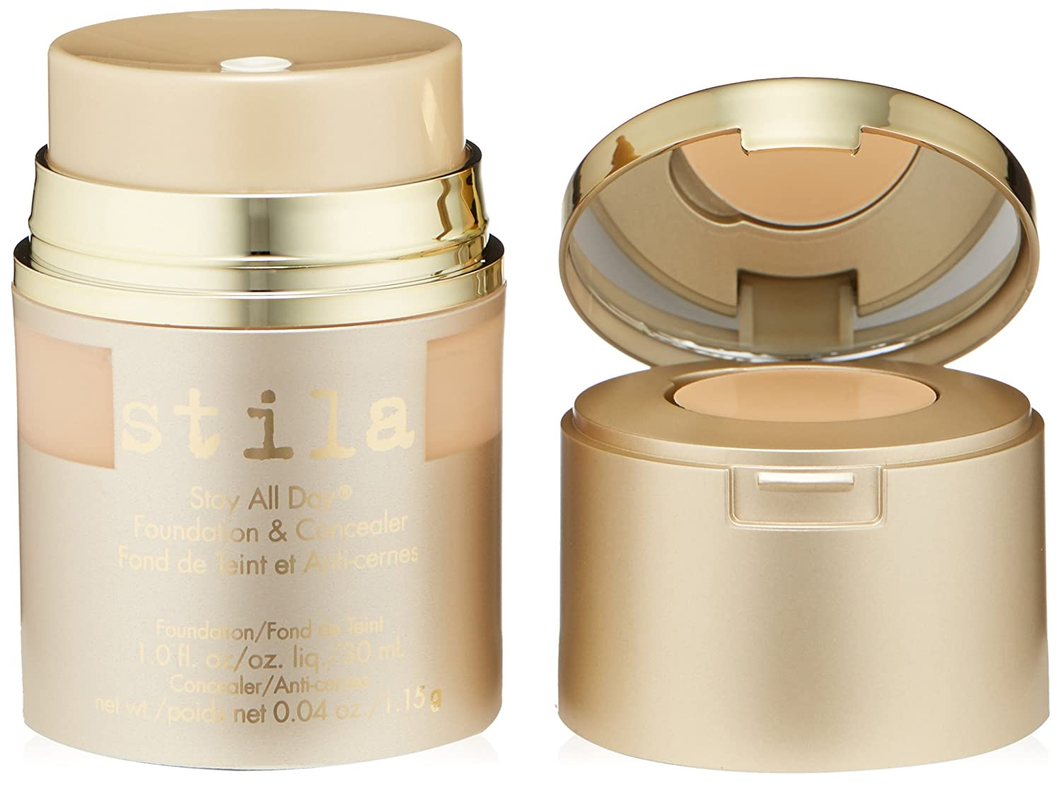 stila Stay All Day Foundation & Concealer