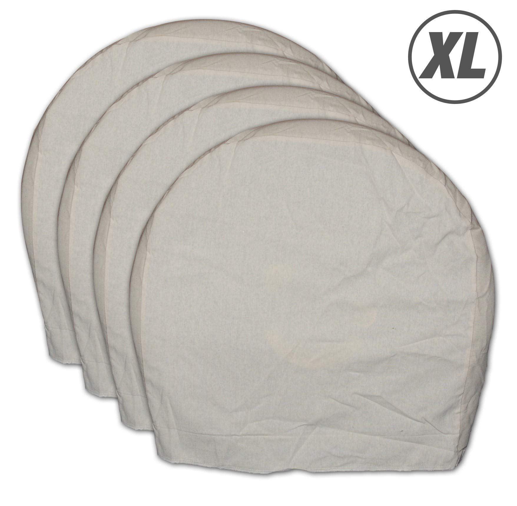 X Large Canvas Wheel Masker - 4pc per set by AES Industries