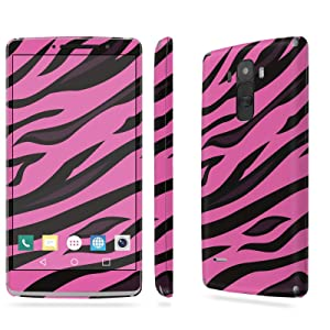 LG [G Stylo] Skin [NakedShield] Scratch Guard Vinyl Skin Decal [Full Body Edge] [Matching WallPaper] - [Pink Tiger Skin] for LG [G Stylo] [LS770 H631]