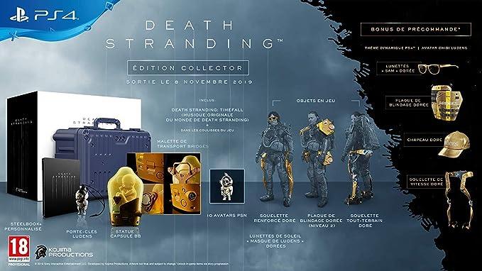 DEATH STRANDING Collectors Edition PS4: Amazon.es: Videojuegos