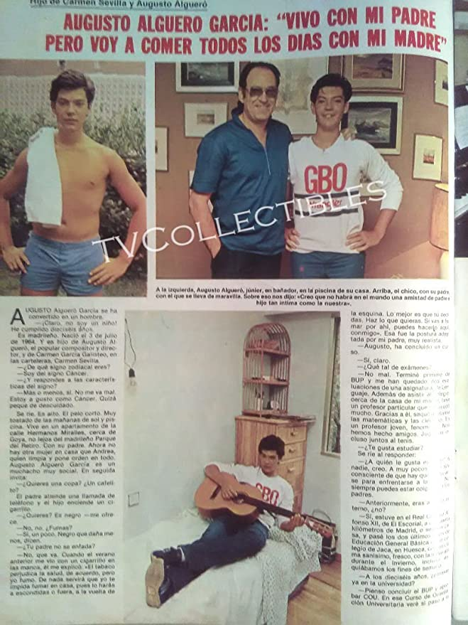 Amazon.com: Magazine~ LECTURAS ~July 18 1980 ~Prince Felipe ~Lolo Garcia ~Augusto Alguero Jr: Photographs