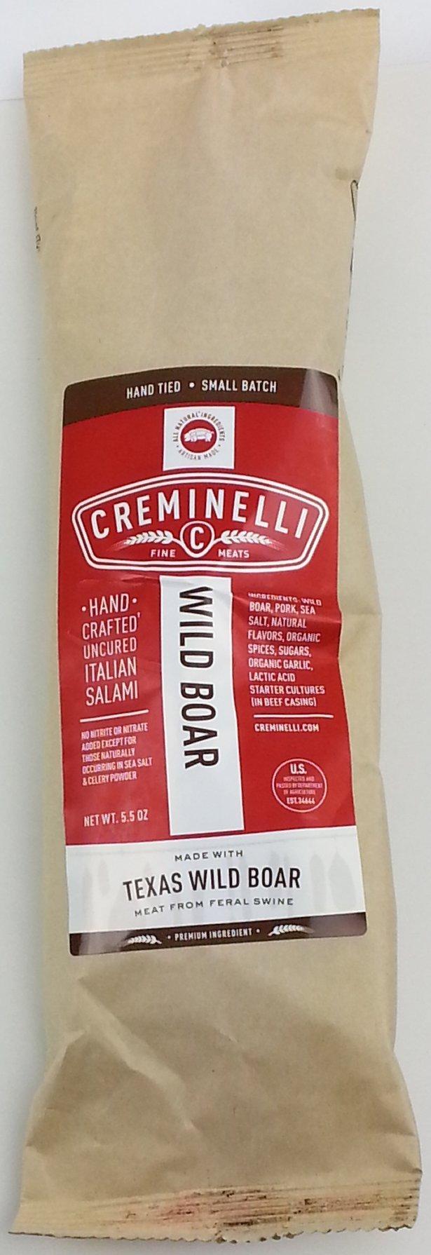 Wild Boar Salami (3 pack)