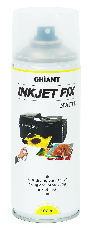 Ghiant 400 ml Ink Jet Fix Can, Matt/Transparent 66070201 GHFIXMATT