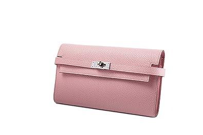 7d42275a30fd HERMES(エルメス) Kelly ケリーロング ケリーウォレット レディース長財布 シルバー金具 (ピンク