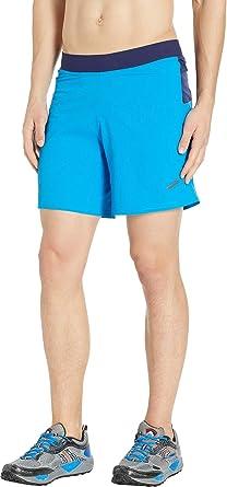 fe7620cbb266c Brooks Men s Cascadia 7 quot  2-in-1 Shorts Azul Navy Small 7