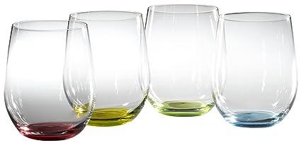 1f6d00ae6f3 Amazon.com   Riedel Happy O Wine Tumblers, Set of 4: Reidel Happy O ...