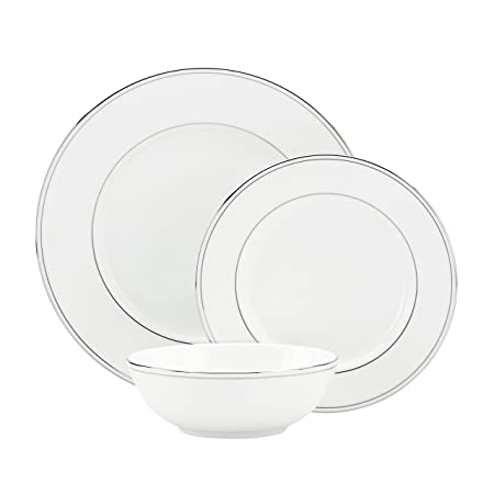 Lenox Federal Platinum 3-piece Dinnerware Place Setting