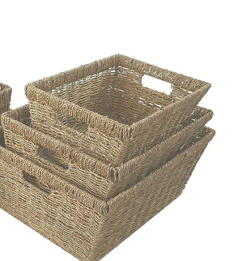 Profundo grande cesta para almacenar posidonias A4 papel registro ...