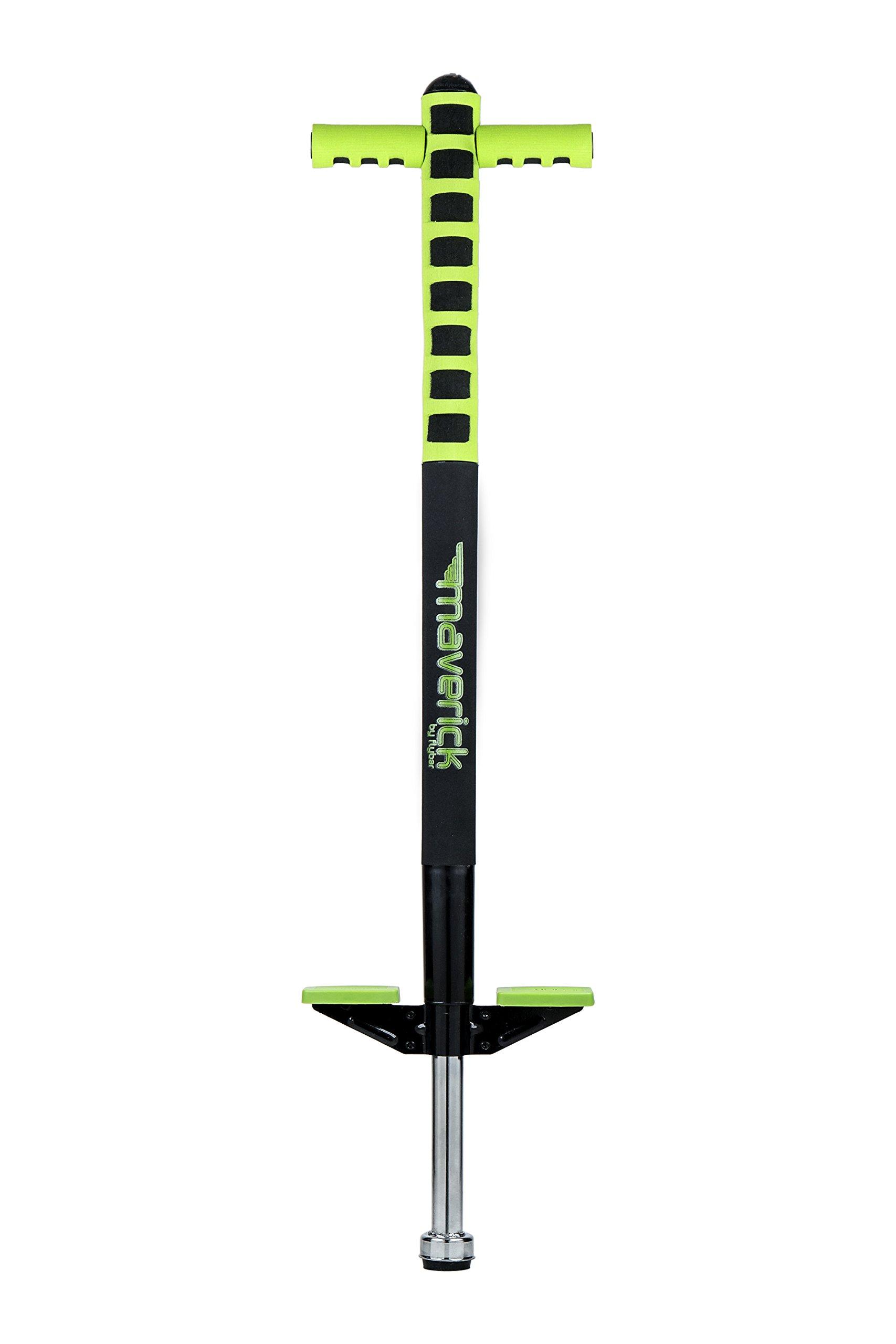 Flybar Foam Maverick Pogo Stick (Green/Black) by Flybar