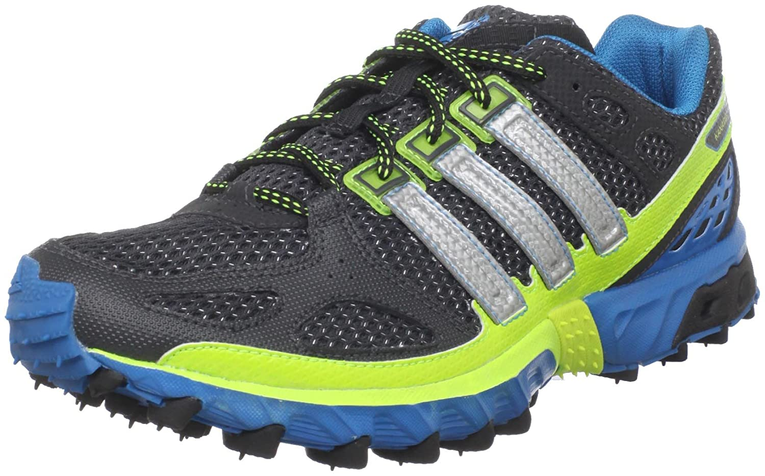 best service 2263a 789c9 adidas Kanadia 4 TR M Mens Gray Running Shoes Size 10 UK UK 10   Amazon.co.uk  Shoes   Bags