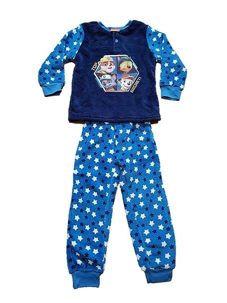 0e48e5a20d Patrulla Canina Pijama Polar de Coralina Color Azul - Paw Patrol Premium  Polar