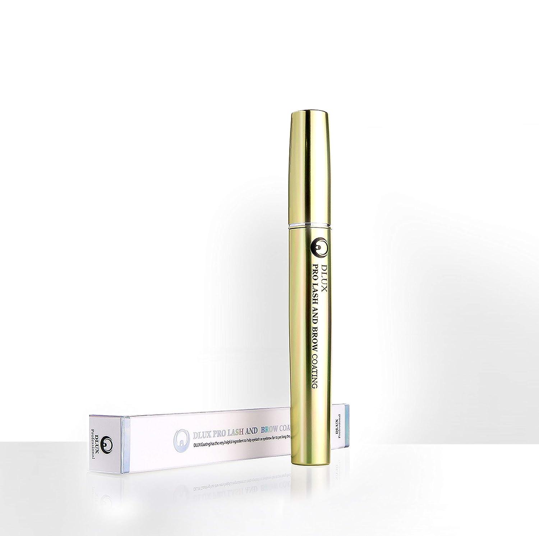 3572c559a88 Amazon.com: DLUX PROFESSIONAL LASH & BROW COATING MASCARA(8ml) White/Eyelash  Mascara/Latex Free/Eyelash coating/PROVIDES STRONGER/NATURALLY LONGER/Roots  ...
