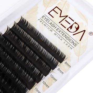 be111bc06e4 Amazon.com : C Curl Eyelash Extensions Mix 8-15mm Thickness 0.15  Professional Eyelash Extension Faux Mink Lashes 3D Individual Lash Soft  Eyelashes By EMEDA ...
