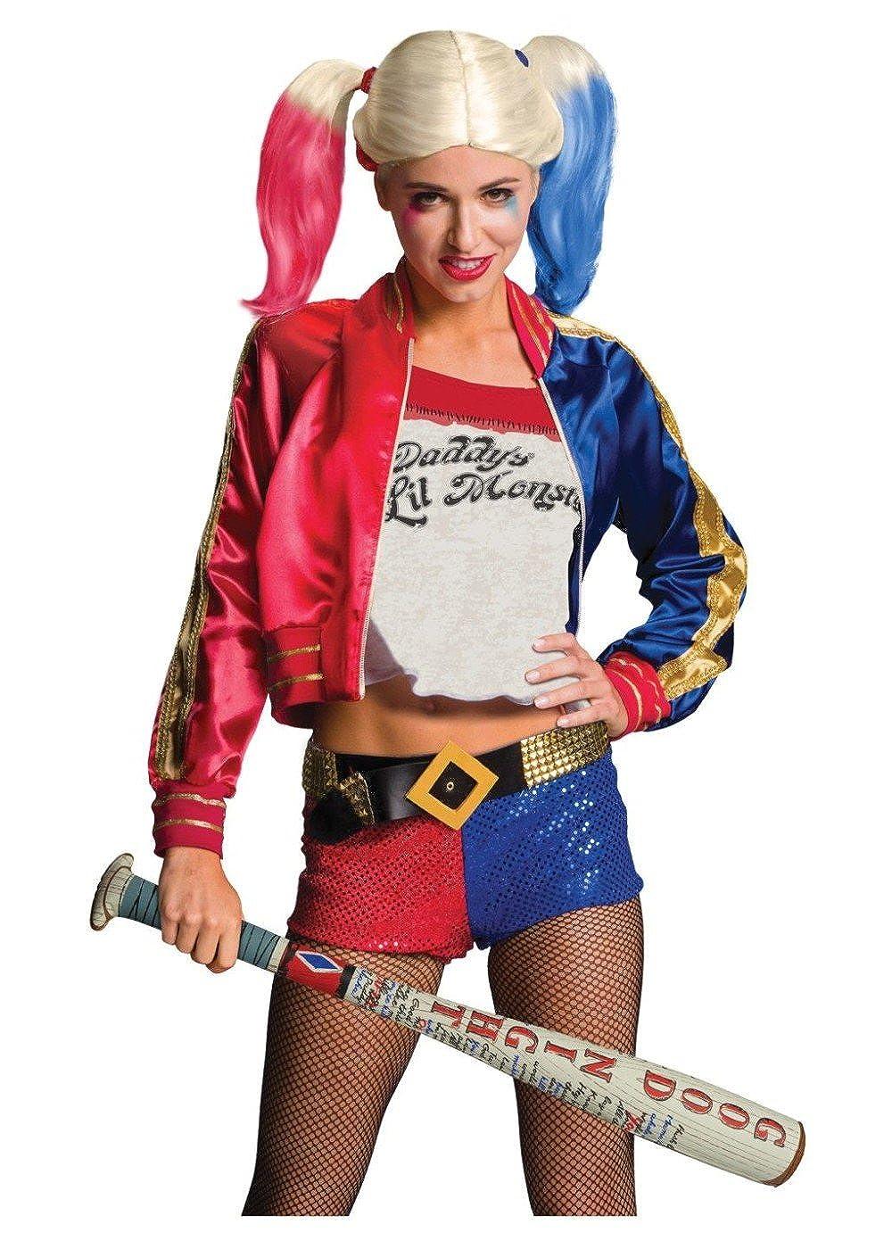 Amazon.com: Harley Quinn Suicide Squad peluca y hinchable ...