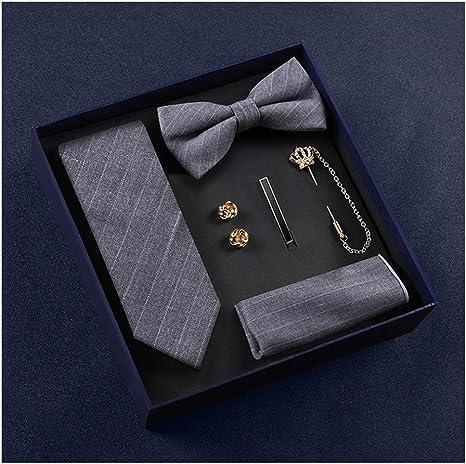groomsmen gift handkerchief cufflink Wood bow tie sets wedding party necktie bowtie suit up best man gift brothers accessories